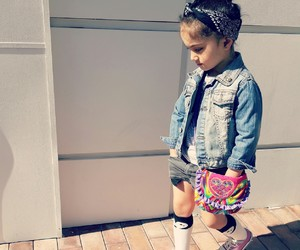 baby, fashionista, and girls image