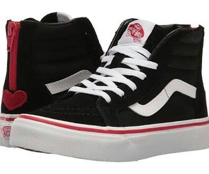 black and red, collection, and vans image