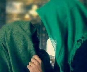 ليلة القدر, اخضر, and محجبات image