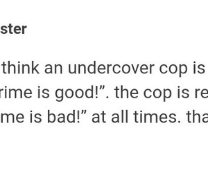 cop, crime, and funny image
