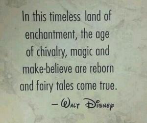 quote, disney, and magic image
