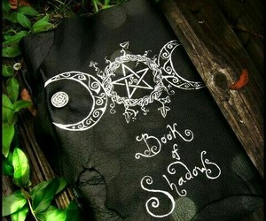 wicca, wiccan, and book of shadows image