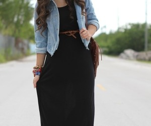 style, summer, and maxi dresses image