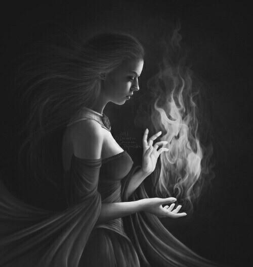 fire, fanart, and fantasy image