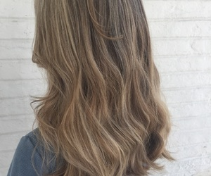 beautiful hair, dirty blonde, and grey image