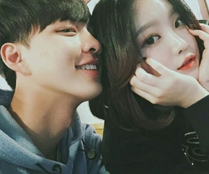 couple, ulzzang, and asian-love image