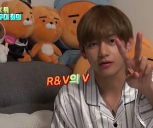 cinnamon roll, kim taehyung, and cutie image