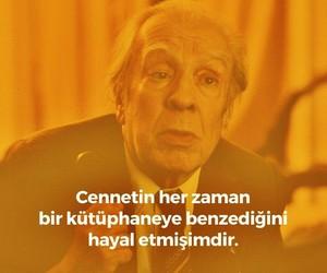 jorge luis borges and türkçe sözler image