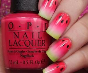 designs, melon, and nails image