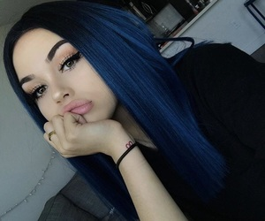 hair, maggie lindemann, and beauty image