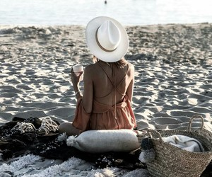 beach, summer life, and inspiration image