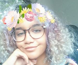 bohemian, girl, and natural hair image