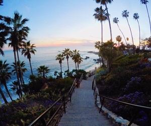 beach and california image