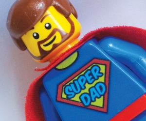 lego, dad, and father image