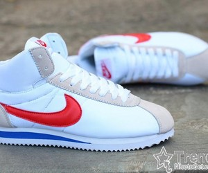 cortez, hight top, and nike image