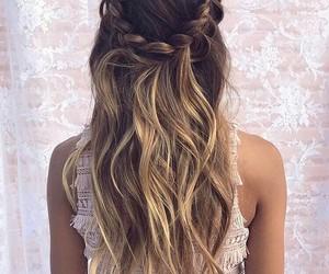 hair, braids, and fashion image