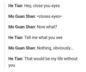 bl, yaoi, and mo guan shan image