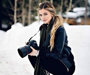beauty, photographer, and winter image