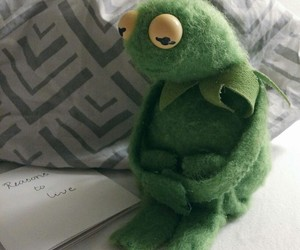 exo, kermit the frog, and kpop image