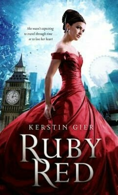 book, book cover, and ruby red image