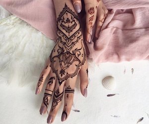 henna, art, and tattoo image