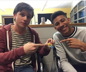 nick robinson and keiynan lonsdale image