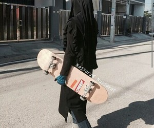 niqab, instagram, and skate image