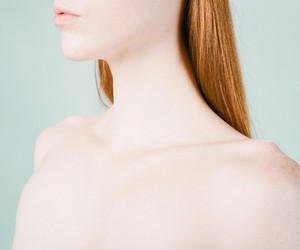 body parts, chest, and collarbone image