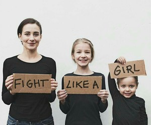 daughter, mom, and feminism image