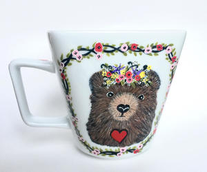 mama bear, momma bear, and coffee mug image