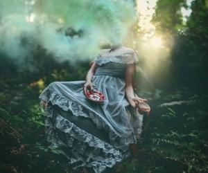 art, fairytale, and smoke image