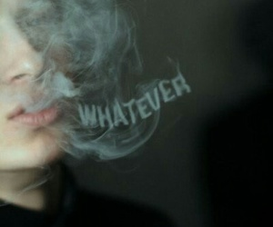 whatever, smoke, and boy image