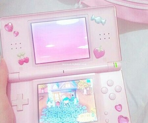 ds, pastel, and pink image