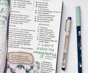 books, motivation, and notes image