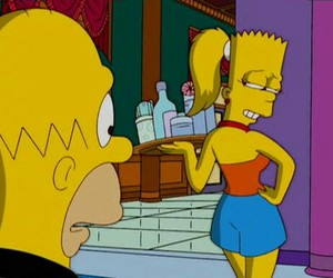bart simpson, cartoons, and lol image