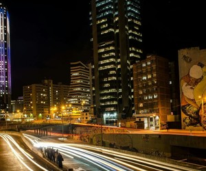 bogota, city, and colombia image