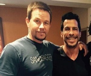mark wahlberg, new kids on the block, and danny wood image