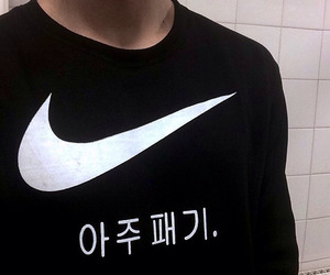 nike, black, and grunge image