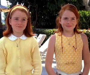 lindsay lohan, the parent trap, and twins image