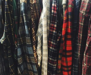 flannel, old school, and style image