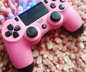 games, girl, and pink image