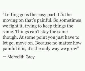 quotes, grey's anatomy, and life image