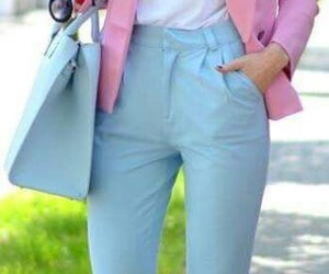 outfit and colores pastel image