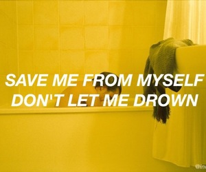 grunge, bmth, and drown image