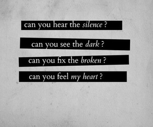 bring me the horizon, quotes, and broken image