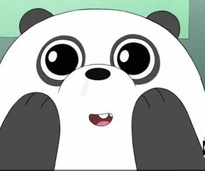 panda and we bare bears image