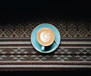 cafe, espresso, and coffee image