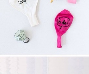 balloons, decoration, and diy image