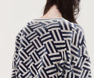 fashion, cardigan, and sweater image