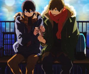 free!, anime, and makoto tachibana image